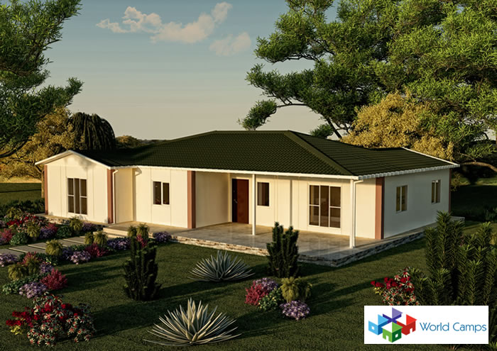 Prefabricated houses modular homes in america and canada work camp housing modular houses in - Quick build houses ...