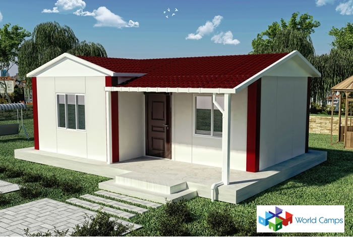 Prefabricated House Design 40 Sq Mtr