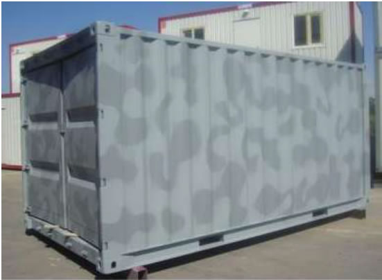 Army Container Shelter