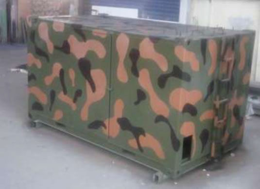 Army Control Shelter
