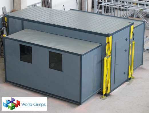 Expandable Container Units