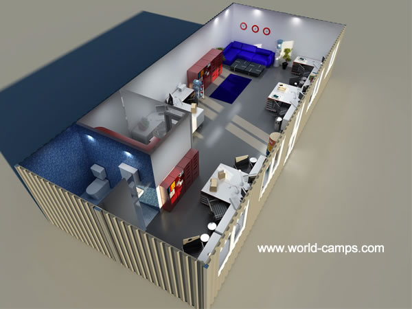 ISO Container Accommodation - Cafe Design or Coporate Designs
