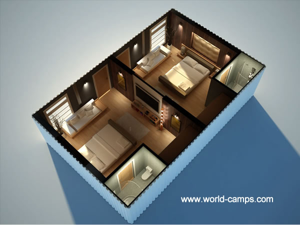 ISO Container Accommodation - Hotel