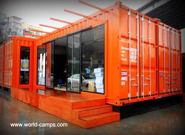 Camp Containers, Container Housing Camps, Container Housing ...