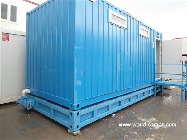 ISO Container Accommodation - WC or Toilet Designs