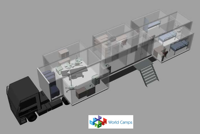 Modular Hospitals on Trailers