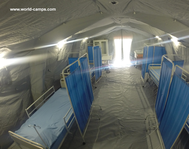 Inflatable Medical Tents & Hospitals in inflatable tents Hospitals for Hurricane Camps ...