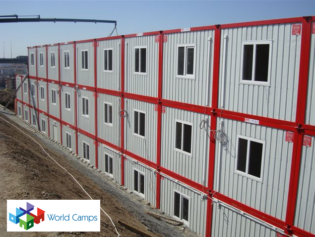 Multi Storey Camp Containers