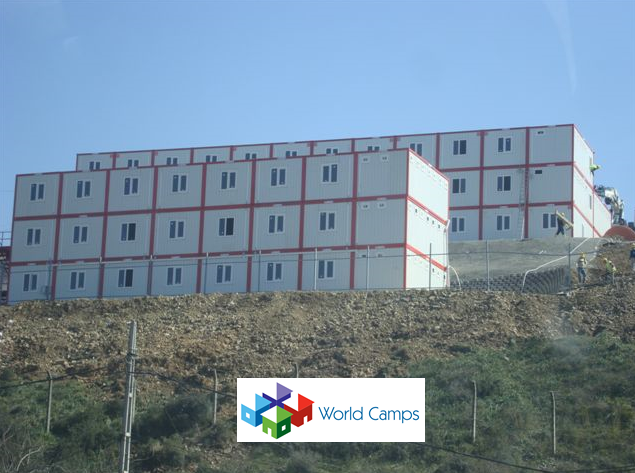 Modular Multiple Storey Housing Containers