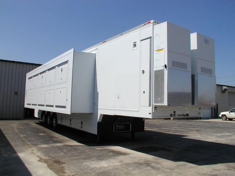 Mobile Trailer Unit : Television production mobile vehicles tv